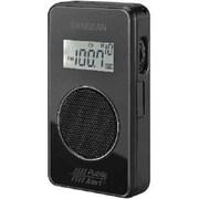 Sangean® DT-500W AM/FM/Weather Alert Pocket Radio, Black