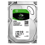 Seagate BarraCuda ST3000DM008 3TB SATA 6 Gbps Internal Hard Drive, Silver