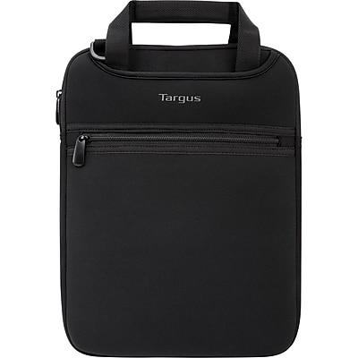 Targus® Slipcase Black Neoprene Carrying Case with Hideaway Handles for 14