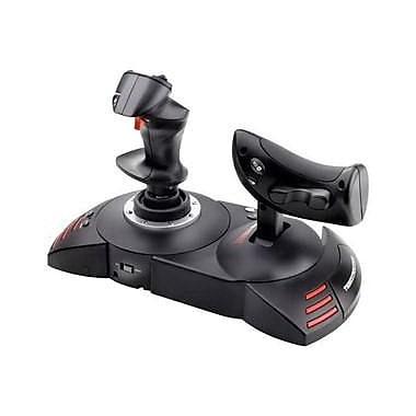 Thrustmaster® 2960703 T.Flight Hotas X Gaming Joystick for PlayStation 3, USB, Black