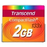 Transcend® TS2GCF133 2GB CompactFlash Memory Card