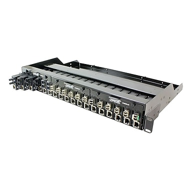 Transition Networks® M-MCR-01 18-Slot Powered Chassis for Mini Media Converters