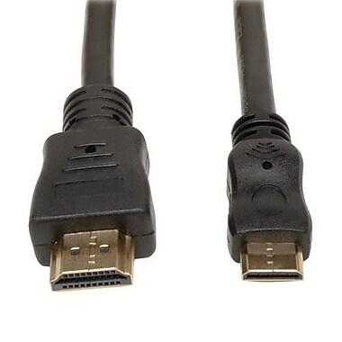 Tripp Lite P571-010 10' HDMI to Mini HDMI Male/Male Audio/Video Cable, Black