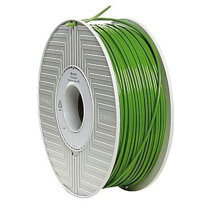 Verbatim® 55263 3mm Green PLA Filament for 3D Printer