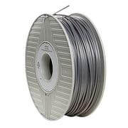 Verbatim® 55266 3mm Silver PLA Filament for 3D Printer