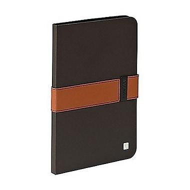 Verbatim® 98417 Folio Signature Case for iPad mini 1/2/3, Mocha/Tan