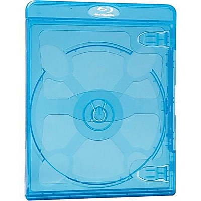 Verbatim 98603 Blu-Ray DVD Case, Blue, 30/Pack IM1XR8204