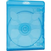 Verbatim® 98603 Blu-Ray DVD Case, Blue, 30/Pack