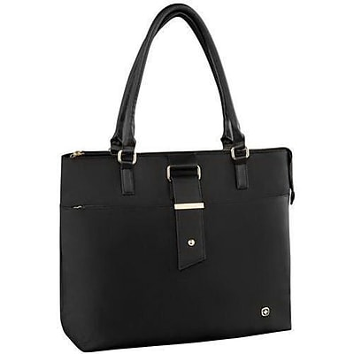 Victorinox Swiss Army Black Women's Laptop Tote for 16