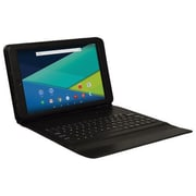 "Visual Land® Prestige Elite 10QS ME10QS16GBKCBLK 10"" Tablet with Keyboard, 16GB, Android 5.0 Lollipop, Black"