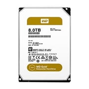 WD® Gold™ WD101KRYZ 10TB SATA 6 Gbps Internal High-Capacity Datacenter Hard Drive, Silver