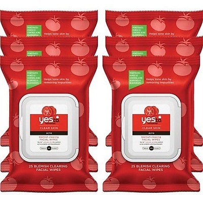 Yes to™ Tomatoes Blemish Clearing Facial Wipes (2331167-6-KIT)
