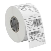 Zebra® Z-Select 4000D Direct Thermal Permanent Adhesive Paper Label
