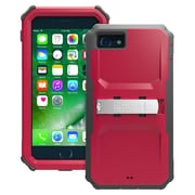 """Trident™ KN-APIP7P Kraken A.M.S. Polycarbonate/TPU Holster Case for 4.7"""" Apple iPhone 7, Crimson Red"""