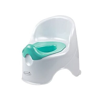Summer Infant® Lil' Loo Toddler Potty Chair, White/Teal (11350A)