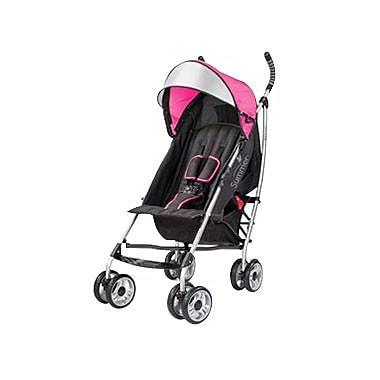 Summer Infant® 3D Lite™ Convenience Stroller, Hibiscus Pink (21960)