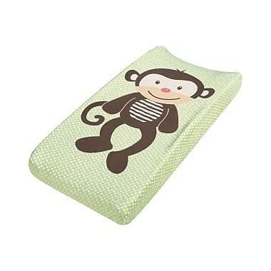 Summer Infant® Ultra Plush™ Changing Pad Cover, Monkey Sport (92073)