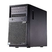 Lenovo® System x3100 M5 8GB RAM 1TB HDD Intel Xeon E3-1220 v3 Quad-Core 3.1 GHz Processor Mini Tower Server, 5457ECU