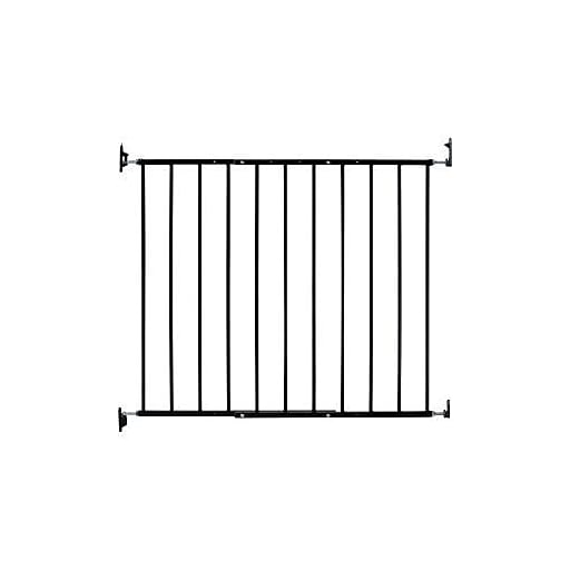 Kidco Safeway Top Of Stair Baby Safety Gate Black G2001 Staples