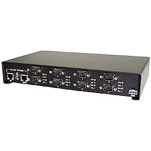 Comtrol® DeviceMaster 8MB RAM 4MB Flash Rack Mountable Server, 99443-5