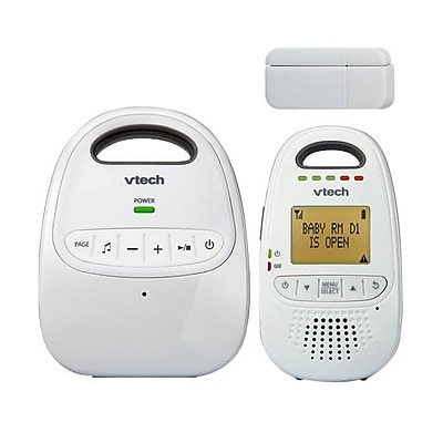 VTech® Safe&Sound® DM251-102 Audio Baby Monitor with Open/Close Sensor