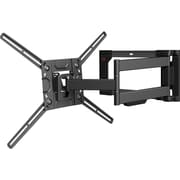 "Barkan Mounts™ Full Motion Curved/Flat Panel Dual Arm TV Wall Mount for 32"" - 80"" LED Screens (4400.B)"