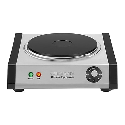 Cuisinart® Countertop Single Burner, Brushed Stainless (CB-30)
