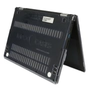 """MAX CASES Snap Shell Polycarbonate Case for 11"""" Acer C738T Chromebook, Clear (AC-SS-C738-11-CLR)"""