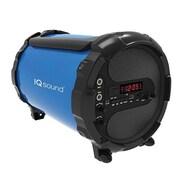 Supersonic® IQ Sound® IQ-1428BT Bluetooth Active HiFi Portable Speaker, Blue