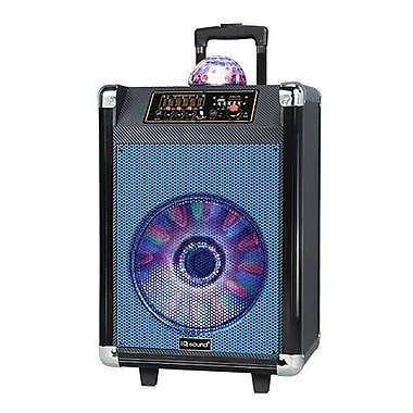 Supersonic® IQ Sound® Portable Bluetooth DJ Speakers with Disco Ball