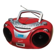 Supersonic® IQ Sound® SC-709 Portable MP3/CD Player, Red