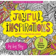 Studio Series: Joyful Inspirations Artist's Coloring Book