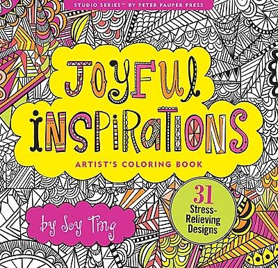 Studio Series: Joyful Inspirations Artist's Coloring Book