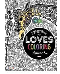 Bendon Adult Coloring: Everyone Loves Coloring Animals