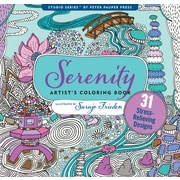 Studio Series: Serenity Artist's Coloring Book