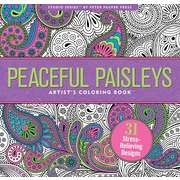 Studio Series: Peaceful Paisleys Artist's Coloring Book