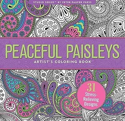Studio Series: Peaceful Paisleys Artist's Coloring Book