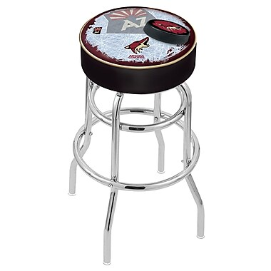 Holland Bar Stool NHL 30'' Swivel Bar Stool; Arizona Coyotes