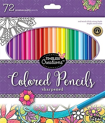 Timeless Creations Colored Pencils 72ct