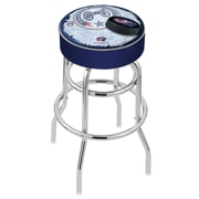 Holland Bar Stool NHL 30'' Swivel Bar Stool; Columbus Blue Jackets