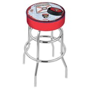 Holland Bar Stool NHL 30'' Swivel Bar Stool; Florida Panthers