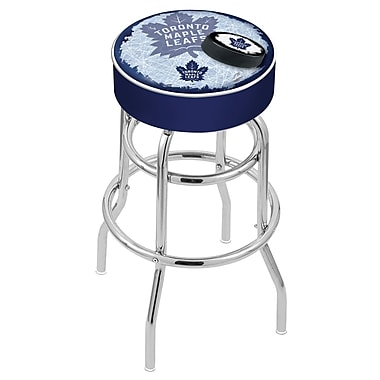 Holland Bar Stool NHL 30'' Swivel Bar Stool; Toronto Maple Leafs