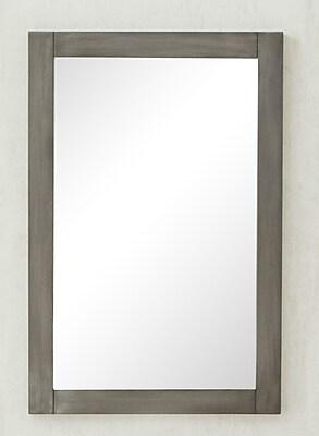 Legion Furniture Wall Mirror; Silver Gray