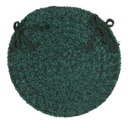 Colonial Mills Spring Meadow Dining Chair Cushion (Set of 4); Dark Green