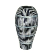 Donny Osmond Stripline Ceramic Table Vase