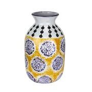 Donny Osmond Orange/Blue Ceramic Vase