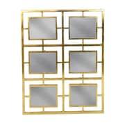 Donny Osmond Gold Metal Multi Panel Mirror