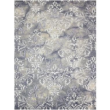 AMER Rugs Kanoka Hand-Tufted Beige/Gray Area Rug; 9' x 13'