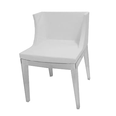 Pangea Home Flora Side Chair (Set of 2); White