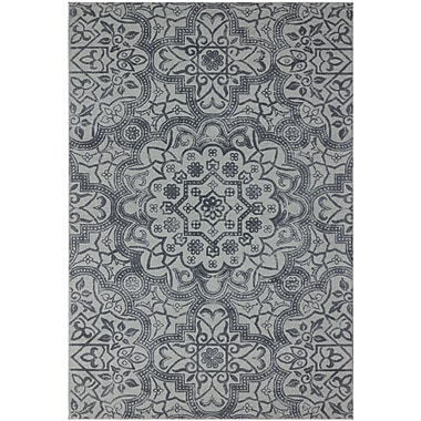 AMER Rugs Bansi Hand-Tufted Gray Area Rug; 7'6'' x 9'6''